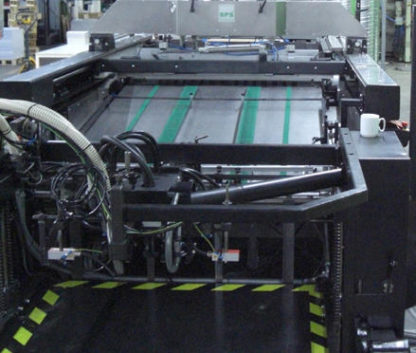 Einfarben Bogensiebdruckmaschine